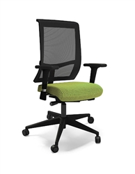 Commute Mesh Swivel Chair by Mayline