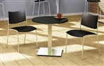 "30"" Modern Round Bistro Table CA30RLS by Mayline"