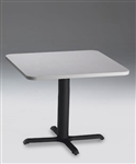 "36"" Square Bistro Table CA36SLB by Mayline"