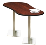 Stainless Steel Peanut Table CA3PL by Mayline