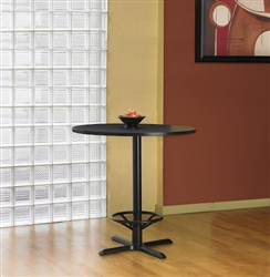 "42"" Round Bar Height Bistro Table CA42RHB by Mayline"