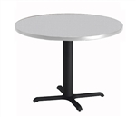 "CA42RLB 42"" Round Bistro Table by Mayline"