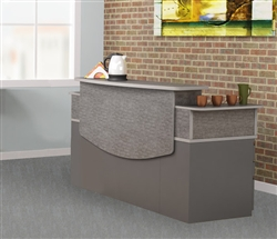 Commercial Reception Desk Typical CST26 by Mayline