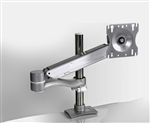 EZKC1 Single Screen Pole Mounted Monitor Arm by Mayline