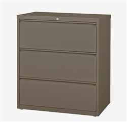 "CSII 30"" 3 Drawer Metal File Cabinet HLT303 by Mayline"