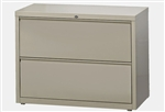 CSII Series HLT362 2 Drawer Lateral File Cabinet by Mayline