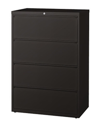 "CSII 36"" 4 Drawer Metal File Cabinet HLT364 by Mayline"