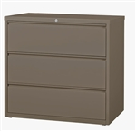 "CSII 42"" 3 Drawer Metal File Cabinet HLT423 by Mayline"