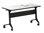 Rectangular Flip-N-Go Training Table LF1848 by Mayline