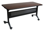 "Flip-N-Go 60"" Training Table LF1860 by Mayline"
