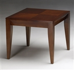 M104S Diamond Series Cherry End Table by Mayline