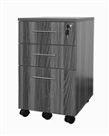 Medina Series Mobile Box Box File Pedestal that Locks by Mayline