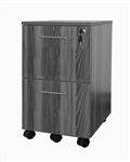 Medina MNFFLGS Pedestal with 2 Locking Drawers by Mayline