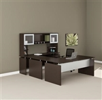Medina Mocha Straight Front U Desk MNT39LDC by Mayline