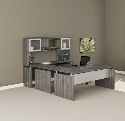 456 best images about cubicle and office decor on.htm mayline medina gray steel wood finished straight front u desk mnt39lgs  mayline medina gray steel wood finished