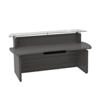 Mayline Sterling Collection Modern Reception Desk STRC72