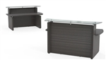 "Mayline Sterling Series 72"" Contemporary Office Welcome Desk"