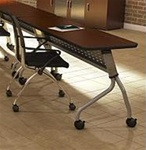 "Mayline SY2472 72"" Folding Sync Training Table"