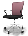 Valore Height Adjustable Contemporary Mesh Task Chair TSH3 by Mayline