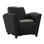 Santa Cruz Mobile Lounge Chair VCCM by Mayline