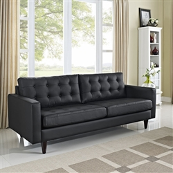 Modway Empress Bonded Leather Sofa
