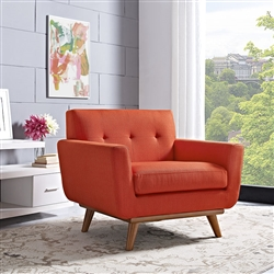 Modway EEI-1178 Engage Tufted Armchair with Wood Legs