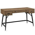 Modway Surplus Walnut Finished Office Desk EEI-1328