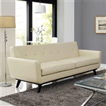 Modway Engage Bonded Leather Sofa