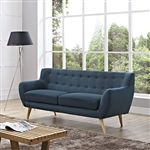 Modway Remark Tufted Sofa with Wood Legs