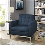 Loft Upholstered Fabric Lounge Chair EEI-2050 by Modway