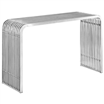Modway Pipe Stainless Steel Accent Table EEI-2104