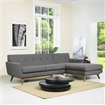 Modway Engage Mid Century Modern Sectional EEI-2119
