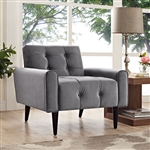 Modway EEI-2326 Delve Collection Velvet Lounge Chair