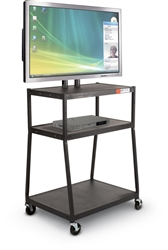 MooreCo Wide Body Flat Panel TV Cart 27553