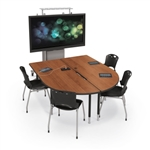 MooreCo MediaSpace Collaborative Conference Table 27755