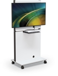 MooreCo MediaSpace Flat Panel Audio Visual Cart 27809