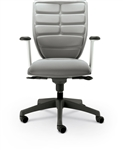 MooreCo Renew Gray Ergonomic Task Chair with Removable Cushions 34393