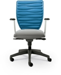 MooreCo Renew Gray and Blue Office Task Chair