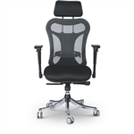 MooreCo Ergo Ex High Back Ergonomic Executive Chair with Headrest 34434