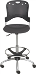 MooreCo Circulation Armless Drafting Chair 34643
