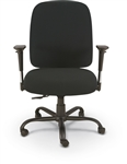 MooreCo Titan Series Intensive Use Big And Tall Task Chair with Arms