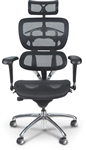 MooreCo Butterfly High Back Mesh Executive Chair 34729
