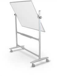 MooreCo Lumina 4'H x 5'W Reversible Whiteboard 62383