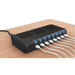 MooreCo 8-Port USB Charging Station