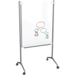 MooreCo Enlighten Mobile Glass Collaborative Board 74954
