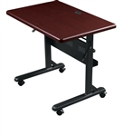 "MooreCo 36"" Mahogany Flipper Table 89876"