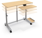 MooreCo Ergo E. Sit To Stand Workstation 90016