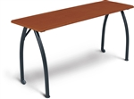 "MooreCo Mentor 60"" x 20"" Cherry Seminar Table 90110"