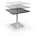 MooreCo Height Adjustable Bistro Table 90353