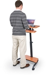 MoreCo Up-Rite 90459 Height Adjustable Sit Stand Computing Station